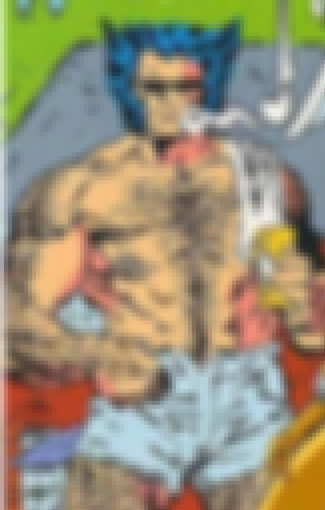 The Male Gaze Gazes Upon Itsel... is listed (or ranked) 1 on the list So, What's The Deal With Your Favorite Superhero's Wang?