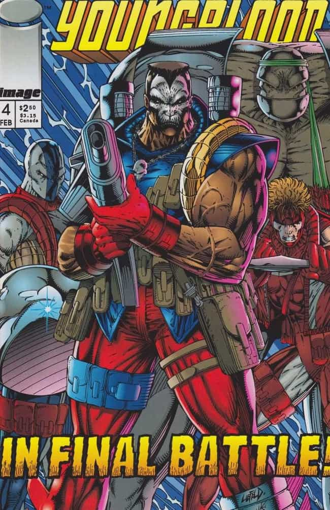 This Is All Rob Liefeld's Faul... is listed (or ranked) 4 on the list So, What's The Deal With Your Favorite Superhero's Wang?
