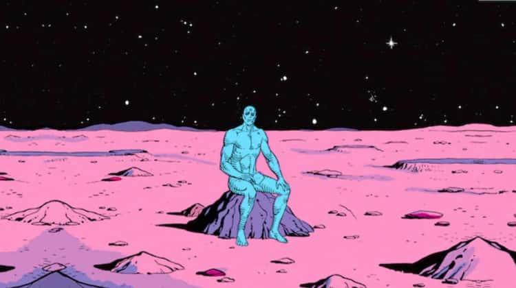 Alan Moore Puts The Final Word On Superhero Wangs With Doctor Manhattan