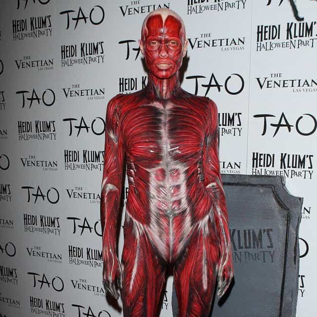 Skinless (2011) is listed (or ranked) 4 on the list All Of Heidi Klum's Best Halloween Costumes Over The Years