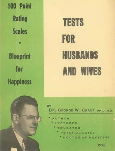 George W. Crane Ran A Counseling Practice And Matchmaking Service