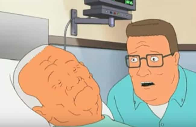 The Show Kills Off A Major Cha... is listed (or ranked) 4 on the list Times King Of The Hill Got Shockingly Dark