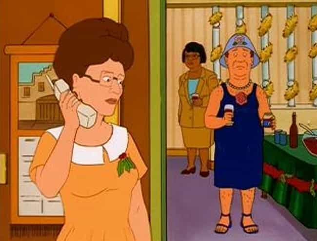 A Major Character Attemp... is listed (or ranked) 2 on the list Times 'King Of The Hill' Got Shockingly Dark