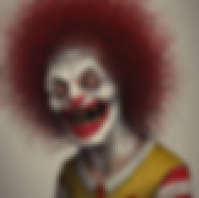 Ronald McDonald is listed (or ranked) 2 on the list This Artist Creates Terrifying 3D Renders Of Pop Culture Characters