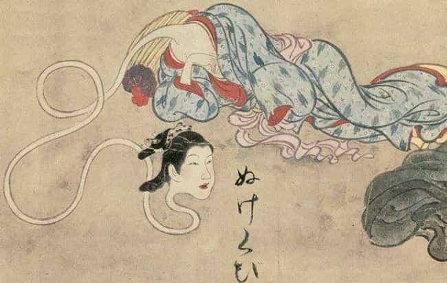 Living People Become Rokurokub... is listed (or ranked) 4 on the list The Horrifying History Of The Rokurokubi Vampire Demons Might Convince You Of Their Existence