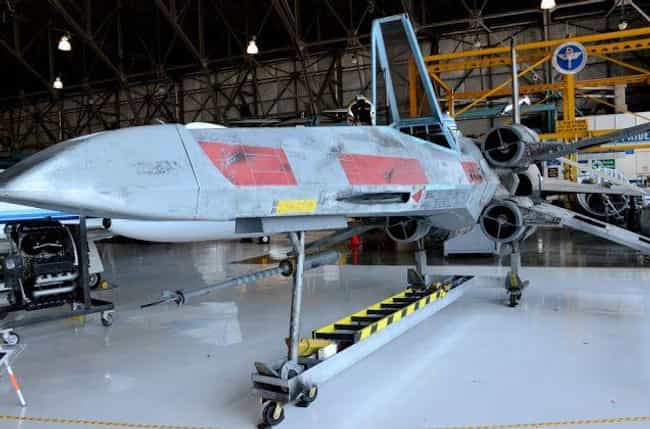 A Life-Size X-Wing That Brings... is listed (or ranked) 2 on the list These Crafty Geniuses Made Their Very Own, Full-Size Star Wars Vehicles