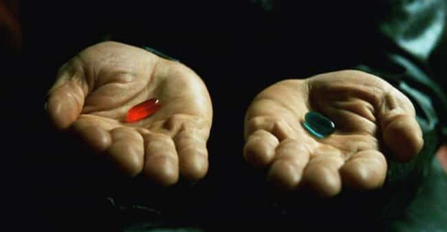 The Red Pill Serves As The For... is listed (or ranked) 4 on the list The Weird Satanic Themes Most People Missed In The Matrix