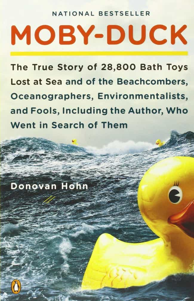 The Author Of The Book H... is listed (or ranked) 4 on the list 28,000 Rubber Duck Toys Spilled Into The Ocean And The Pictures Are Insane