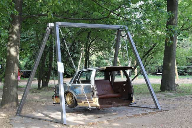 Luxury Swinging Vehicle ... is listed (or ranked) 5 on the list These Are The Most Genius Redneck Inventions Of 2017