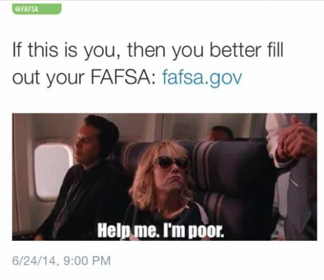 FAFSA Effs Up is listed (or ranked) 4 on the list Crazy Embarrassing Things Companies Have Done To Try To Appeal To Millennials