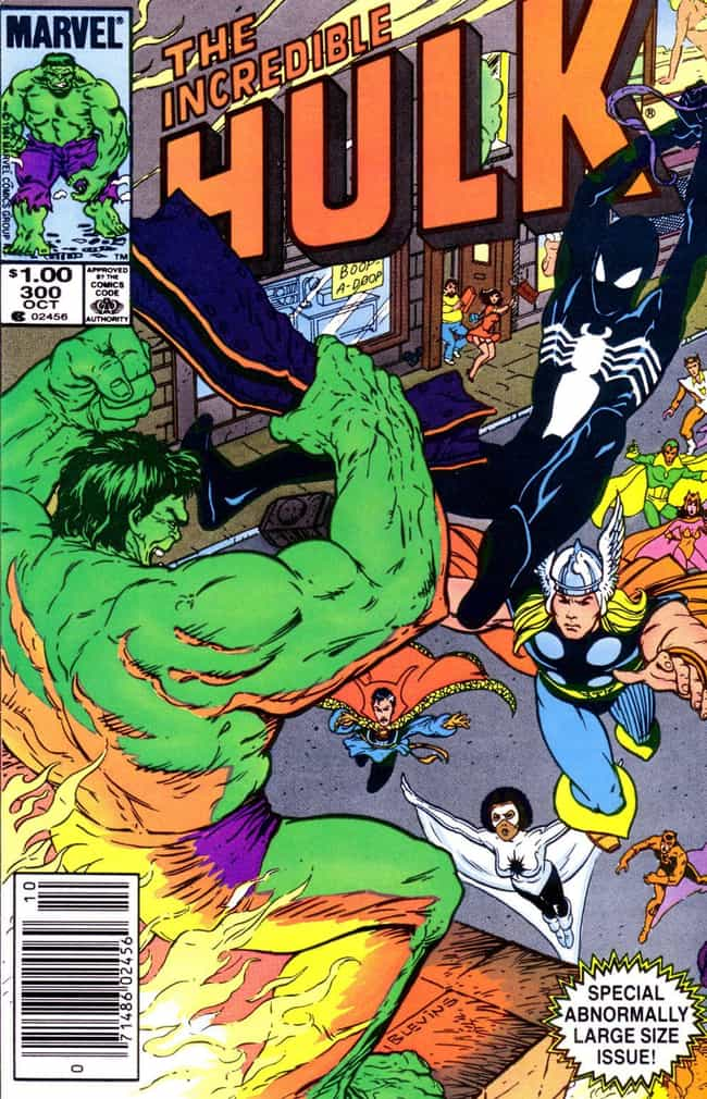 Days Of Rage! is listed (or ranked) 4 on the list The Best Hulk Storylines in Comics