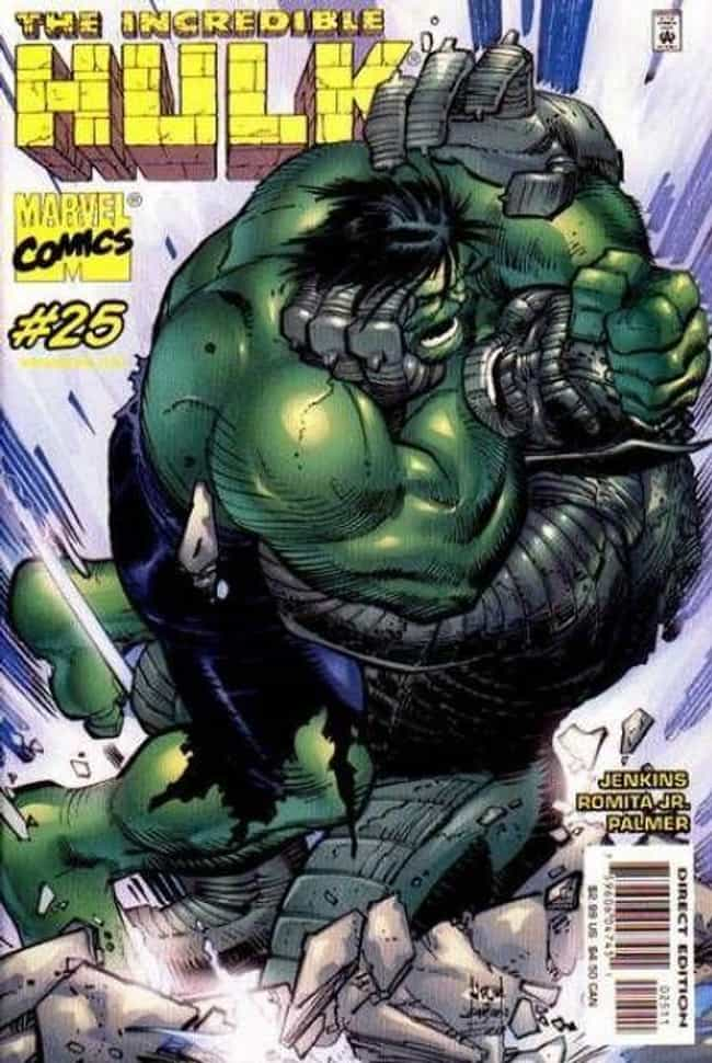 Always On My Mind is listed (or ranked) 3 on the list The Best Hulk Storylines in Comics