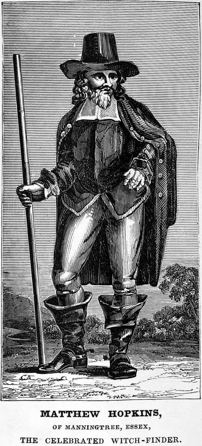 Who Was Matthew Hopkins?... is listed (or ranked) 1 on the list The Hyper-Violent Story Of The Witchfinder General, Who Put 112 Witches To Death In Two Years