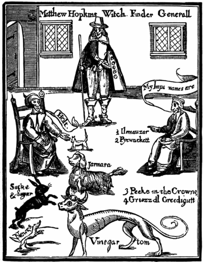 He Became The Witch-Find... is listed (or ranked) 2 on the list The Hyper-Violent Story Of The Witchfinder General, Who Put 112 Witches To Death In Two Years