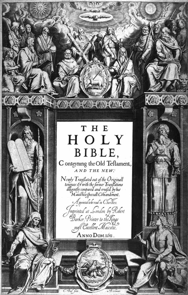 The Goal Of The King James Bib... is listed (or ranked) 2 on the list All The Ways The King James Version Of The Bible Really Messed Up God's Word