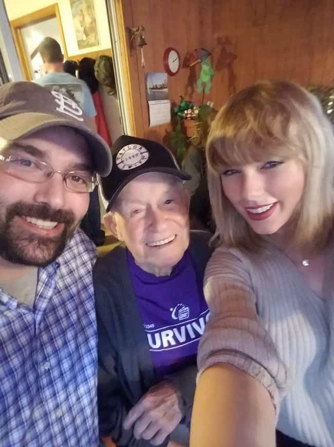 She Paid A Special Visit To He... is listed (or ranked) 4 on the list The Greatest Encounters Taylor Swift Has Had With Her Fans