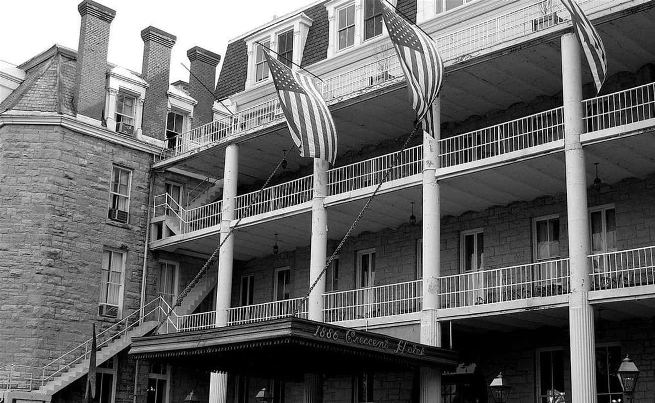 It's Known As The Most Haunted Hotel In America