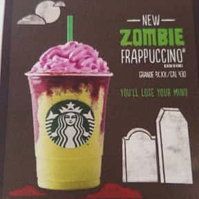 Zombie Frappuccino is listed (or ranked) 24 on the list Starbucks Secret Menu Items
