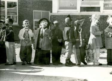 Children Show Off Their Costum is listed (or ranked) 2 on the list 16 Photos That Show What Halloween Looked Like In The 1950s