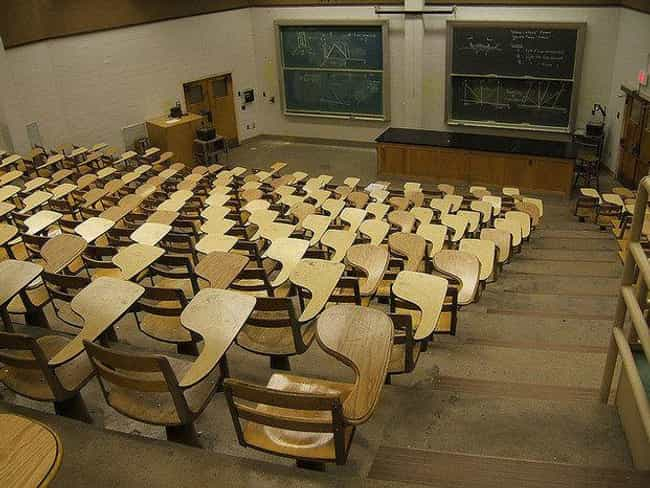 See How You Like Studying In T... is listed (or ranked) 1 on the list Photos That Capture The Horrors Of Left-Handed Life