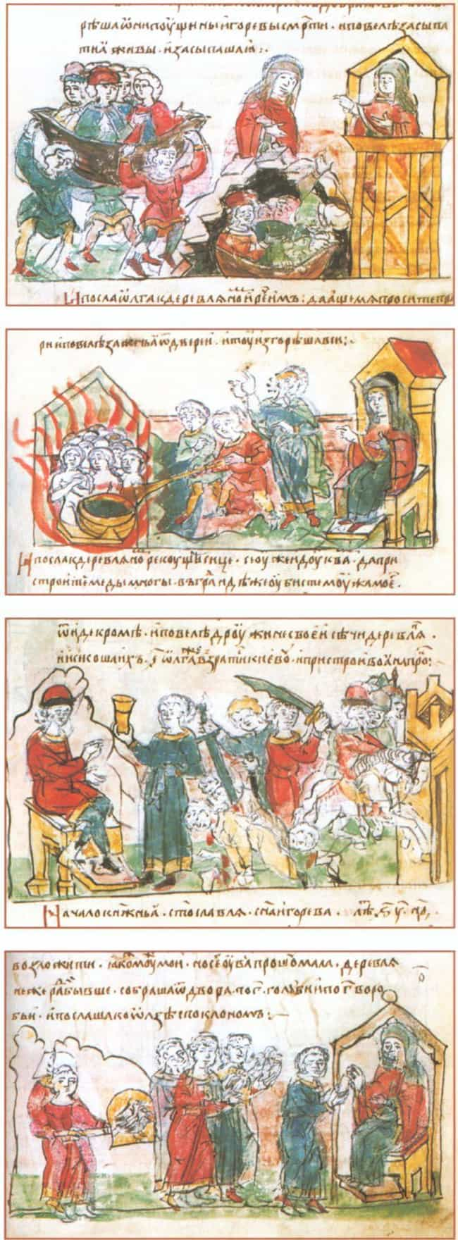 Soon After Igor's Death,... is listed (or ranked) 4 on the list A Viking Queen Exacted Revenge On Her King's Killers In Systemically Brutal Fashion