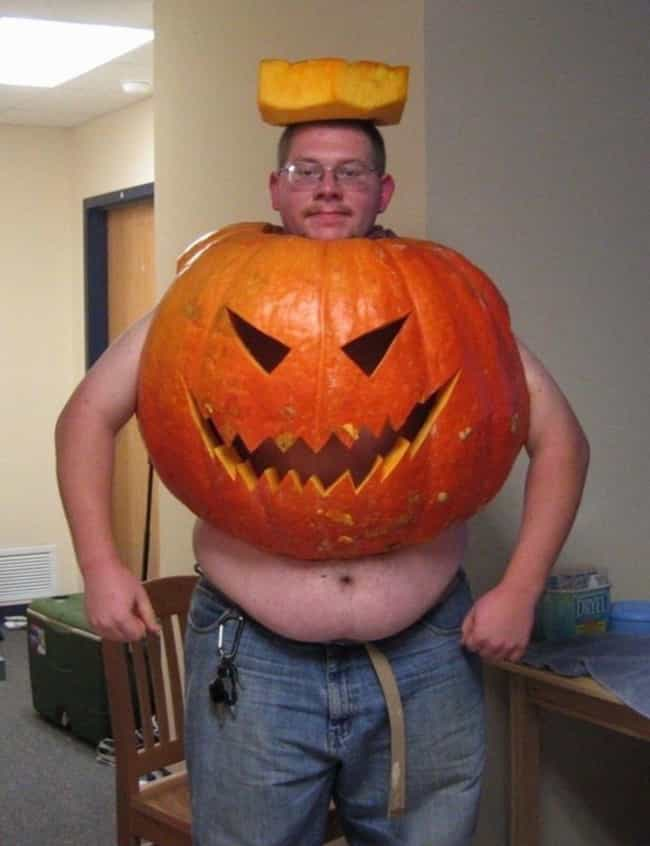 The Not-So-Great Pumpkin... is listed (or ranked) 1 on the list Halloween Costume Blunders Guaranteed To Make You Scream (With Laughter)