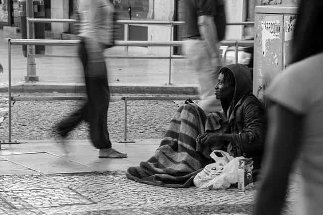 Don't Avert Your Eyes An... is listed (or ranked) 1 on the list Homeless Etiquette: Here's How To Not Be A Jerk To Homeless People