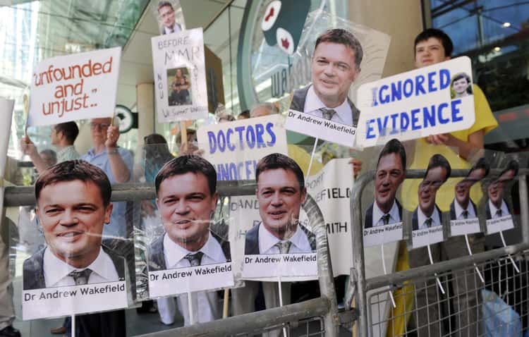 Andrew Wakefield Carried A History Of Falsely Linking Vaccines To Illnesses