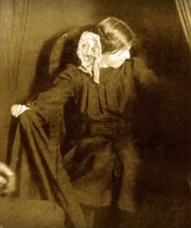 Eva Carrière Produced Ectoplas... is listed (or ranked) 4 on the list Thoughtography Is The Act Of Turning Thoughts Into Images - And Experts Say It's Totally Possible