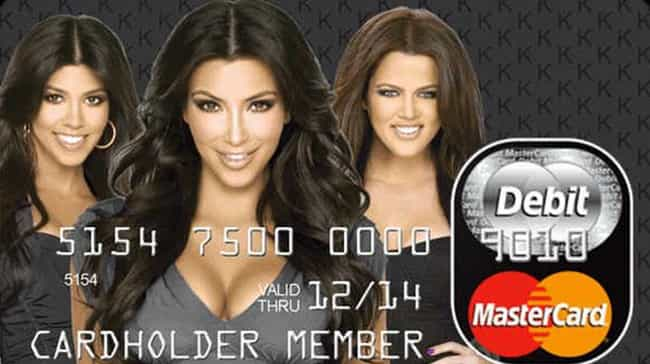 The Kardashian Kard is listed (or ranked) 1 on the list The All Time Worst And Sketchiest Kardashian Business Ventures