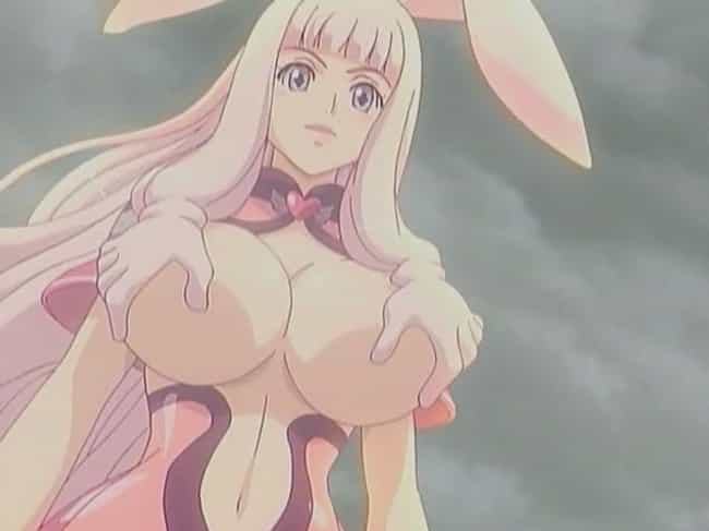 Melona's Corrosive Breast ... is listed (or ranked) 1 on the list The 15 Weirdest Abilities in Anime You Probably Wouldn't Want