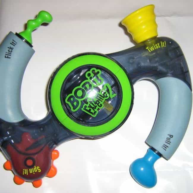 If You Still Have The Bop It E... is listed (or ranked) 2 on the list '90s Collectibles You Threw Away That Are Worth A Ton