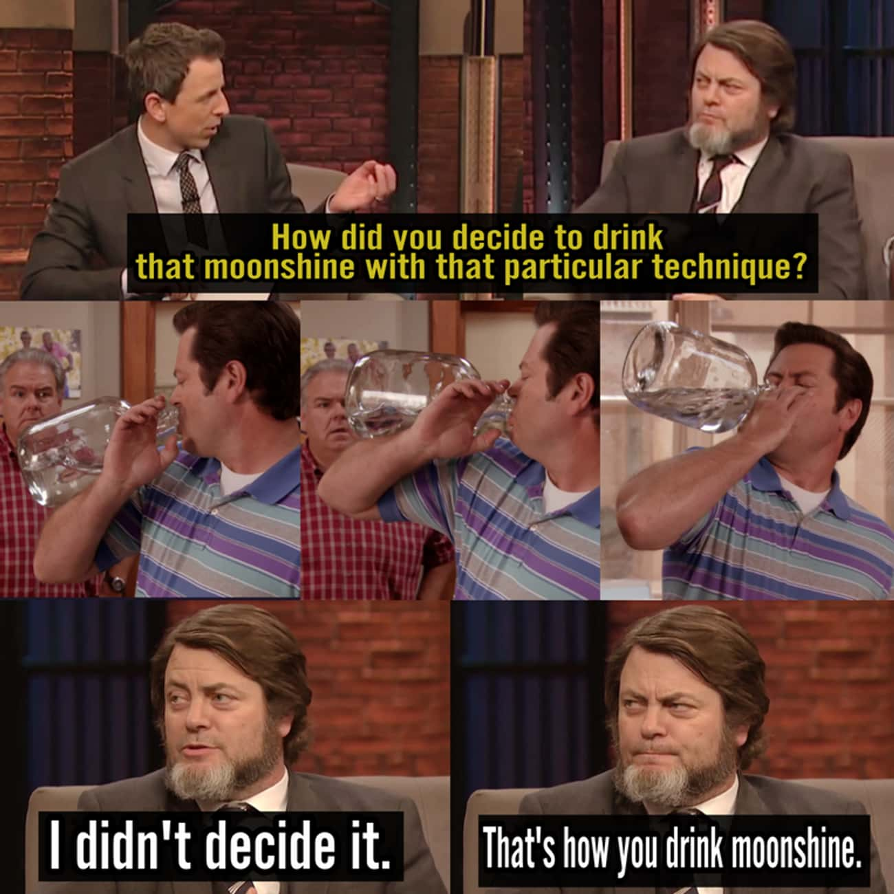 Drinking Lessons At Their Fine is listed (or ranked) 4 on the list Hilarious Nick Offerman Quotes That Prove He's Basically Ron Swanson