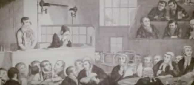 Views From The Audience Of A VictorianEra Murder Trial - 22 weirdest deaths ever morbid fascinating
