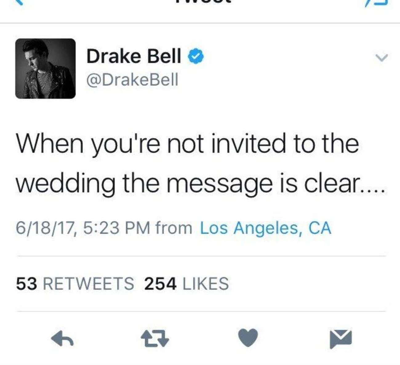 He Was Pissed That He Wasn't Invited To Josh Peck's Wedding