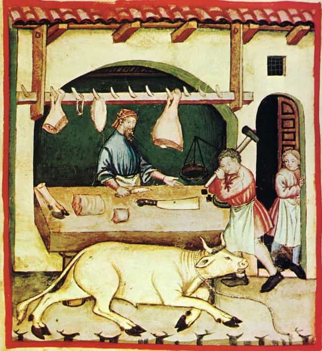 Parchmenters Needed To Find Un... is listed (or ranked) 4 on the list To Make Paper In The Middle Ages, You Had To Skin An Animal And Soak It In Urine