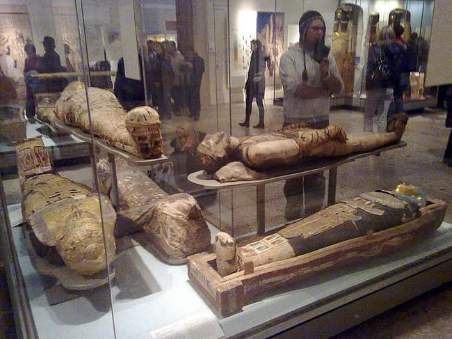 Ancient Egyptians Cut Off The ... is listed (or ranked) 1 on