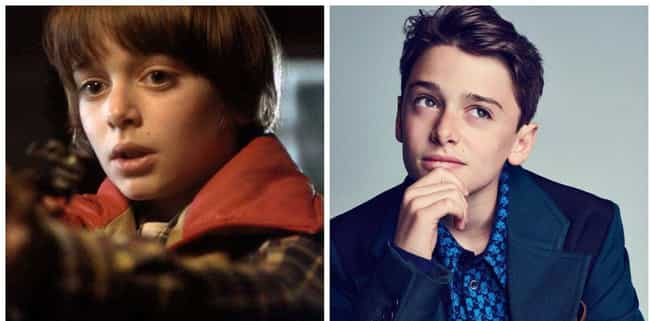 Will Byers, Played By Noah Sch... is listed (or ranked) 1 on the list What The Stranger Things Kids Look Like One Year After The First Season Premiered