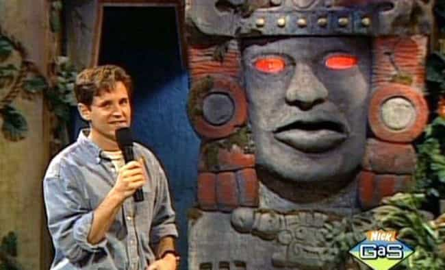 Nickelodeon Actually Toned Dow... is listed (or ranked) 1 on the list Apparently, Being A Contestant On Legends Of The Hidden Temple Was A Waking Nightmare