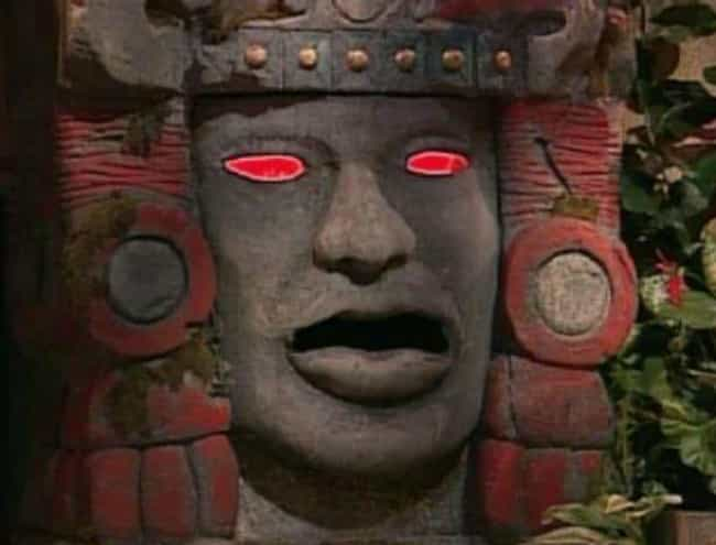 Olmec (That Giant, Talking Hea... is listed (or ranked) 3 on the list Apparently, Being A Contestant On Legends Of The Hidden Temple Was A Waking Nightmare