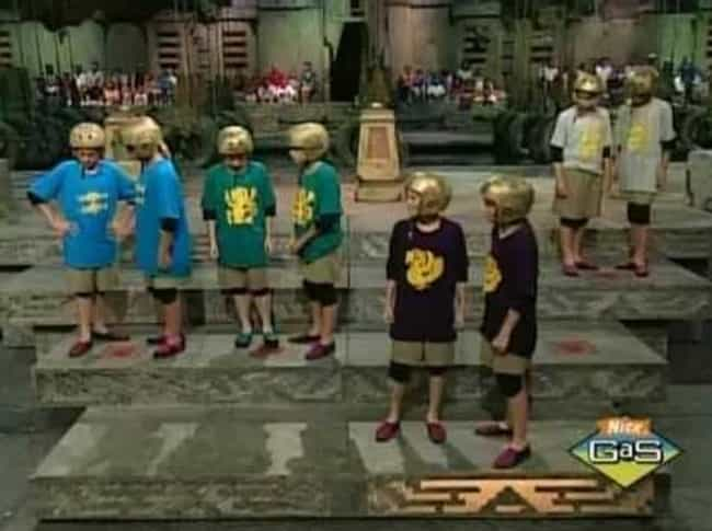 Sometimes Your Teammates Would... is listed (or ranked) 4 on the list Apparently, Being A Contestant On Legends Of The Hidden Temple Was A Waking Nightmare
