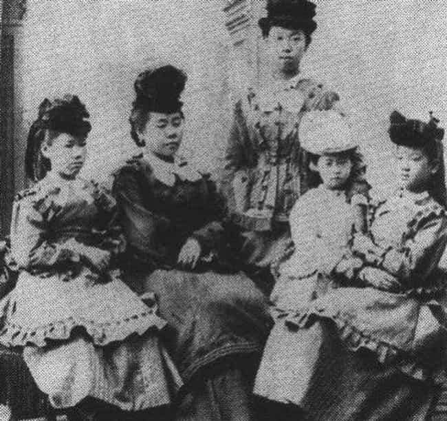 As A Child Sutematsu Yamakawa ... is listed (or ranked) 2 on the list When Imperial Japan Let 5 Women Leave The Country For The First Time, The World Was Never The Same