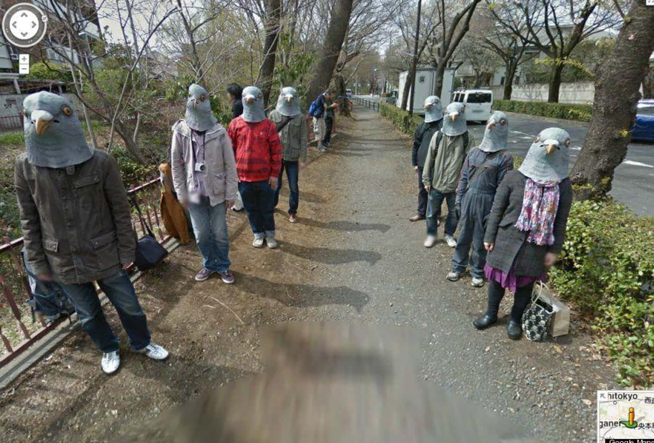 A Tamagawa-Josui Sidewalk In T is listed (or ranked) 4 on the list The Most Flat-Out Horrifying Places And Images You Can Find On Google Street View