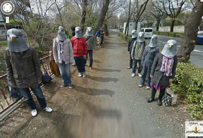 A Tamagawa-Josui Sidewalk In T... is listed (or ranked) 4 on the list The Most Flat-Out Horrifying Places And Images You Can Find On Google Street View