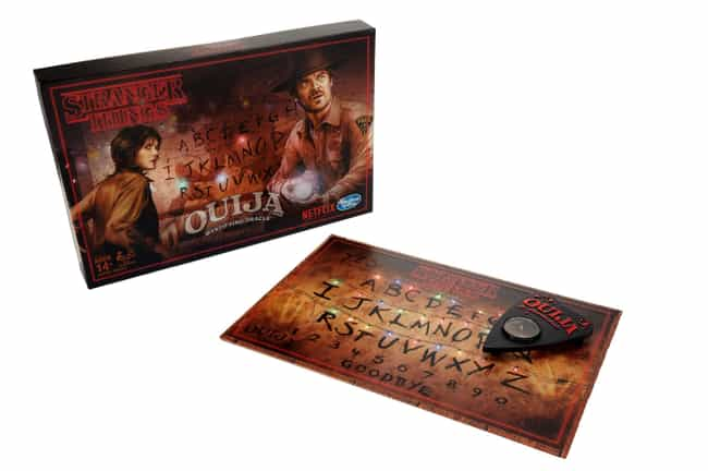 A Stranger Things Ouija ... is listed (or ranked) 4 on the list The Absolute Best Stranger Things Merch You Can Rep To Let Everyone Now How Awesome You Are