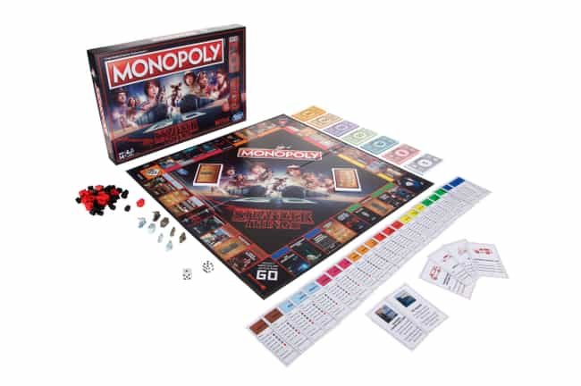 Stranger Things Monopoly is listed (or ranked) 1 on the list The Absolute Best Stranger Things Merch You Can Rep To Let Everyone Now How Awesome You Are