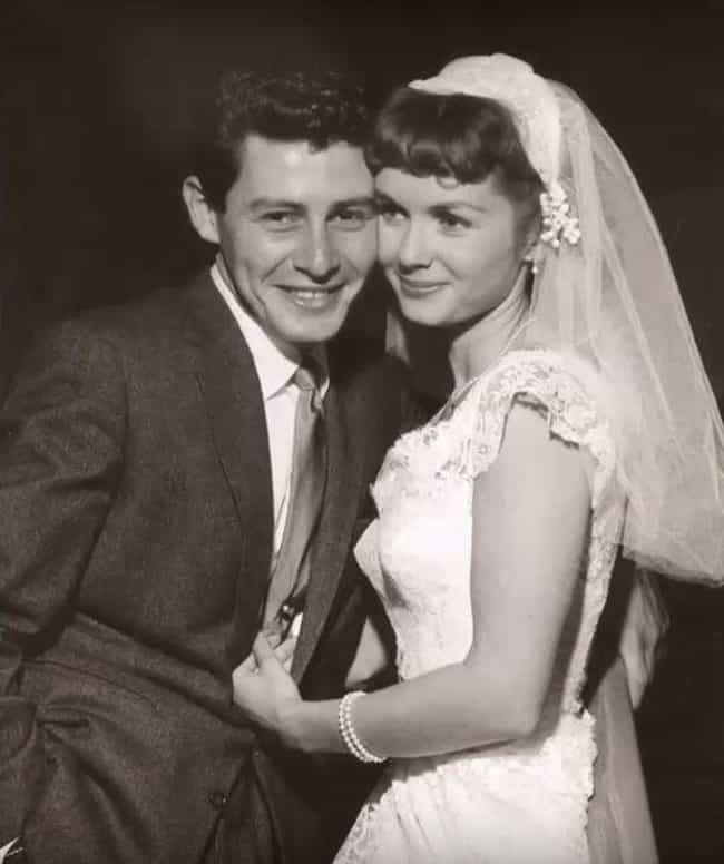 Debbie Reynolds And Eddie Fish... is listed (or ranked) 4 on the list 20 Rarely Seen Photos Of Old Hollywood Legends On Their Wedding Day