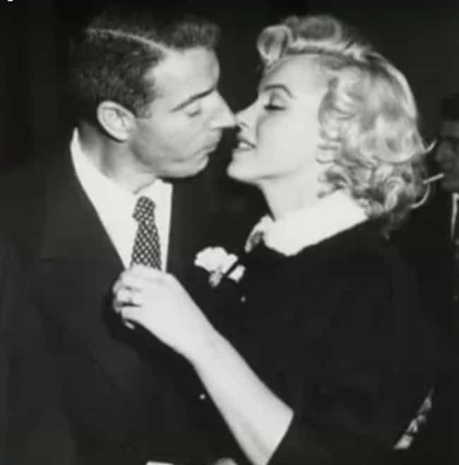 Marilyn Monroe And Joe DiMaggi... is listed (or ranked) 4 on the list 20 Rarely Seen Photos Of Old Hollywood Legends On Their Wedding Day