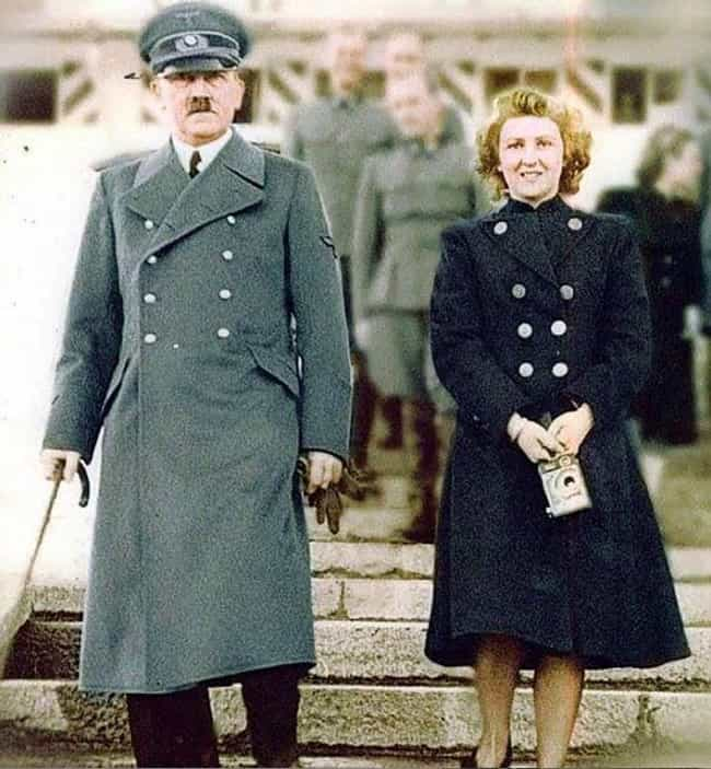 Braun Wasn't Allowed To ... is listed (or ranked) 2 on the list Adolf Hitler And Eva Braun Probably Had The Most Depraved Wedding In World History