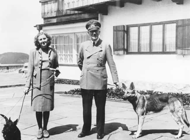 They Met When She Was 17... is listed (or ranked) 1 on the list Adolf Hitler And Eva Braun Probably Had The Most Depraved Wedding In World History